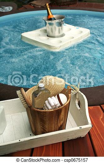 spa outside - csp0675157
