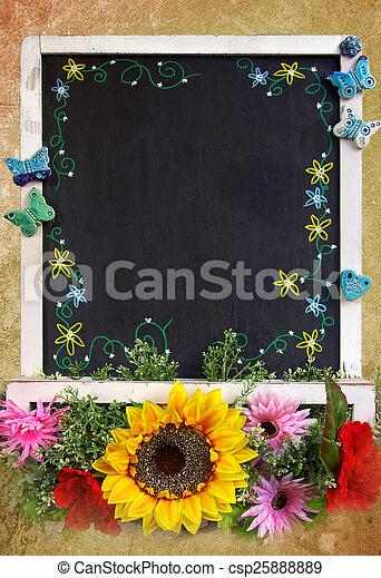Spring Blackboard - csp25888889