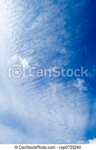 The white clouds. - csp0733240