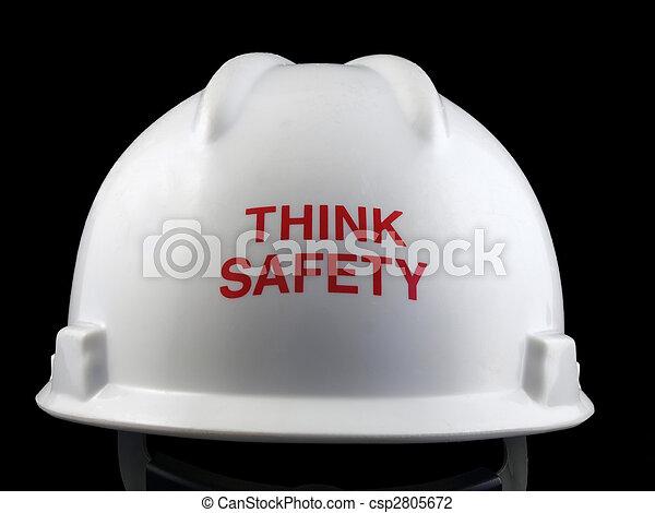 Think Safety Hard Hat - csp2805672