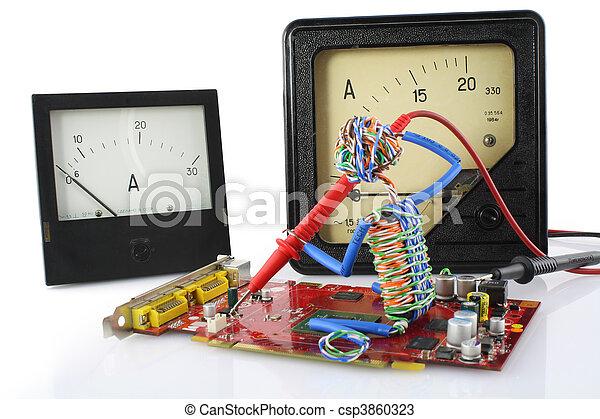 Toys technician repair concept - csp3860323