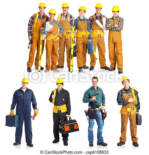 workers people - csp6108633